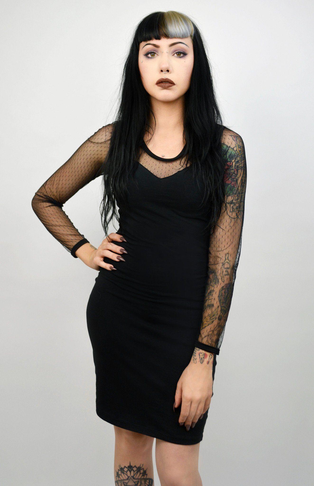 Long sleeve mesh dress inspo pinterest mesh dress dresses and