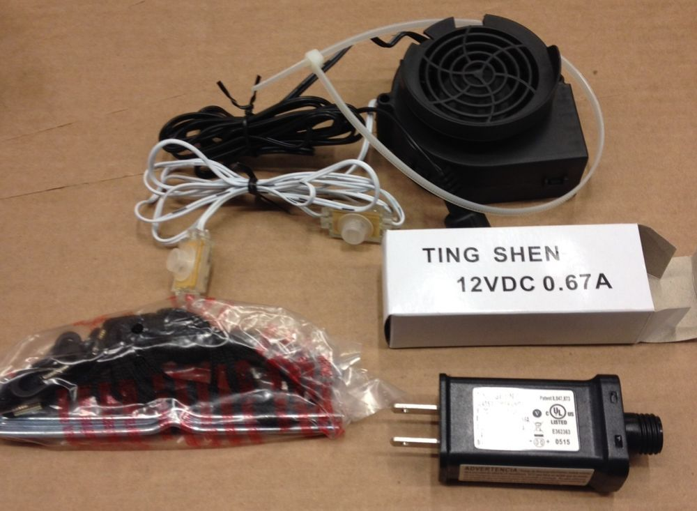 Airblown Inflatable Replacement Fan Blower Motor 0.67A 12V ...