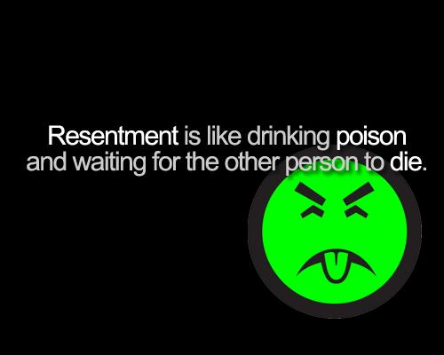 Resentment - It eats success for breakfast (Part 2)