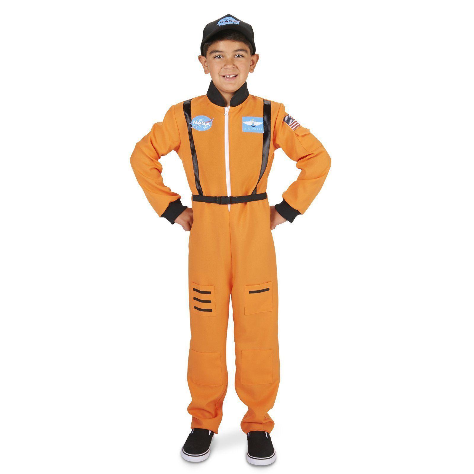 1532e4b0de7 Orange Astronaut Child Costume