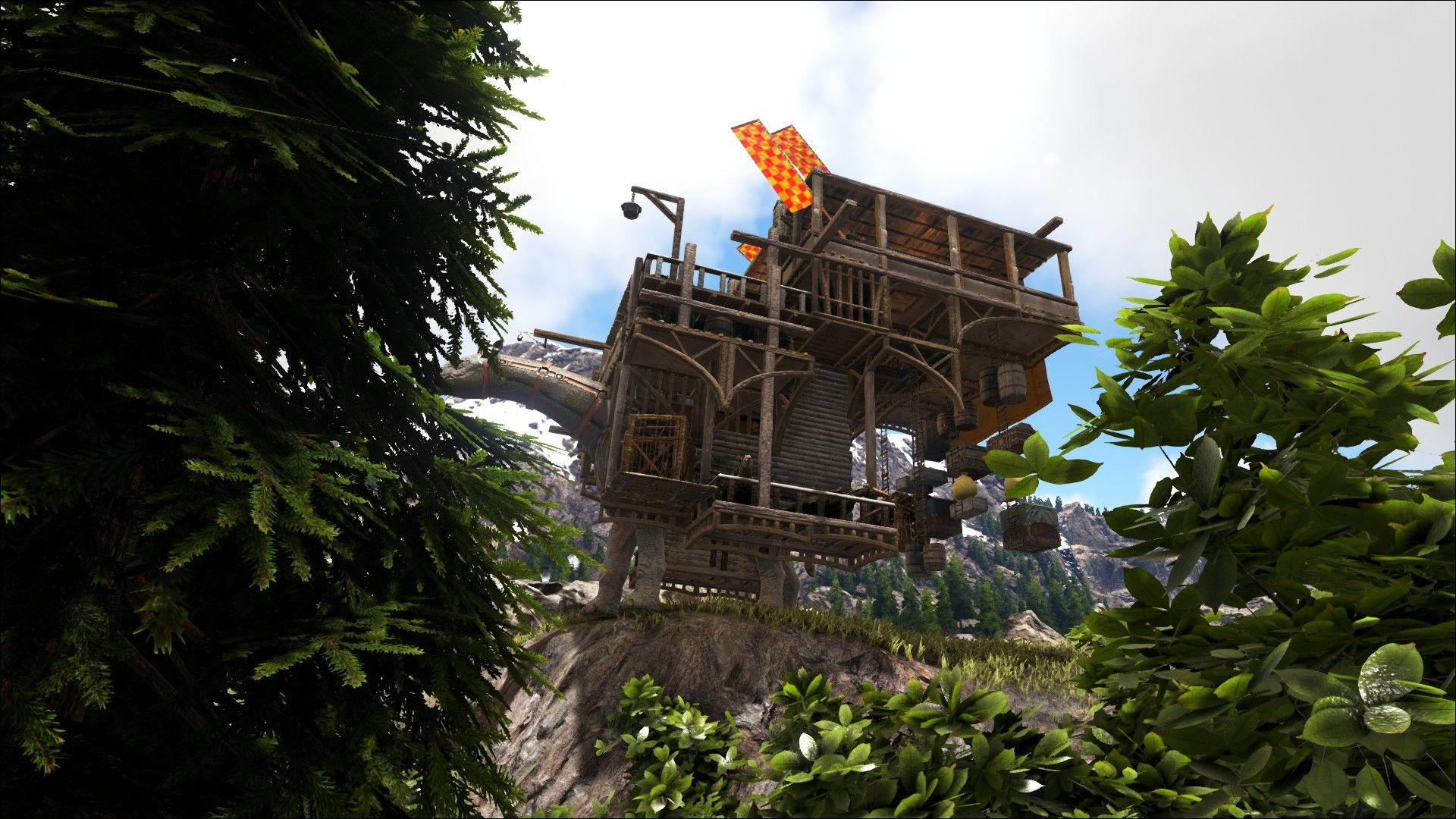 Ark, Paracer Platform Base, Trader, Nomadic Tribe, Platform Base Design