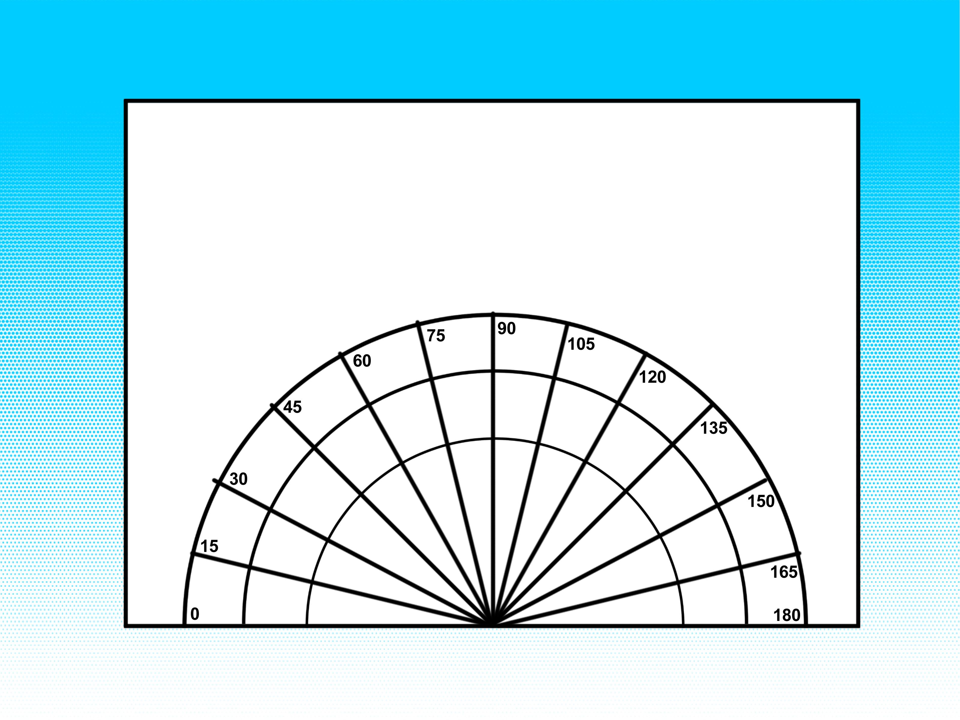 worksheet A Protractor how to make your own paper protractors step by guide with a lot of