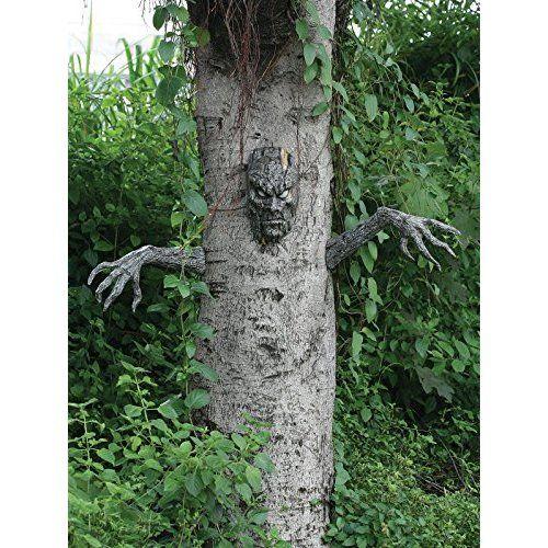 Halloween Haunted House Green Goblin Door Cover by Greenbrier - halloween haunted house ideas