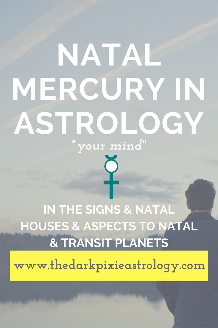 Natal mercury interpretations in the signs houses and aspects http