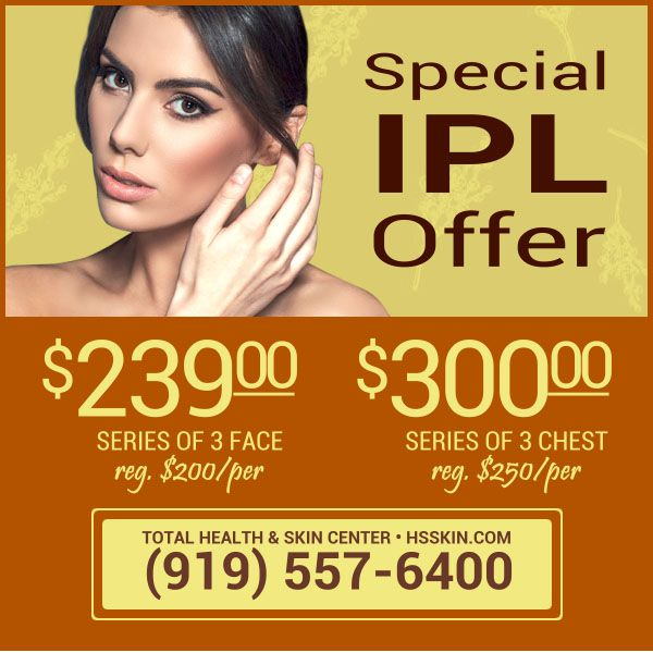 Ipl Special Offer Skin Center Skin Health Spa Specials