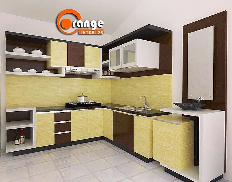 Model Kitchen Set Minimalis Dapur Minimalis Idaman Pinterest