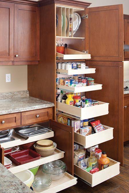 56 Clever Way Decorate Kitchen Cabinet Organization Design Ideas -
