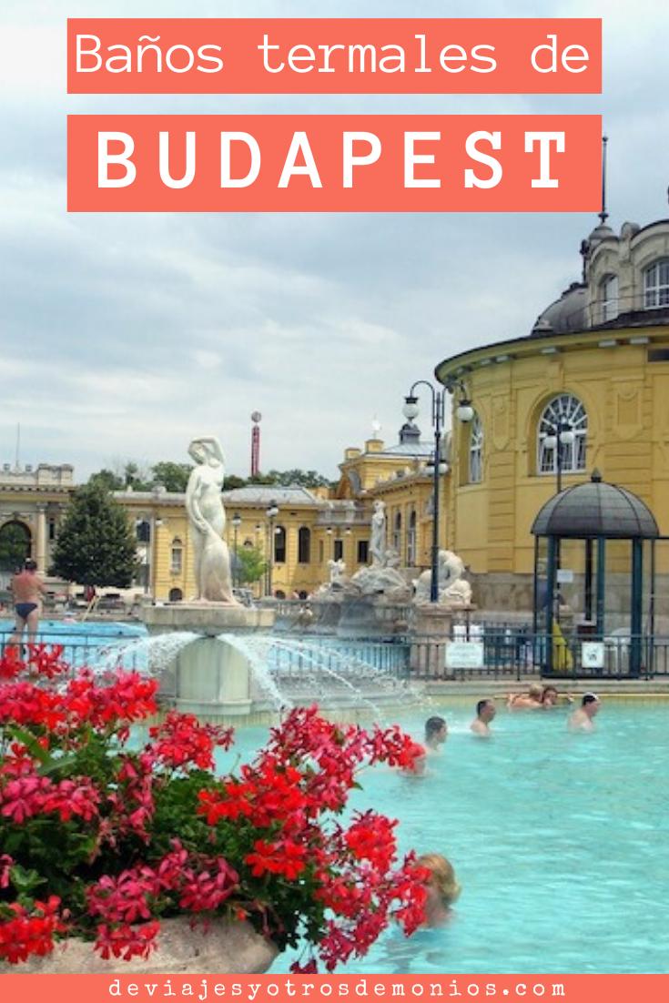 Baños Termales De Budapest Balneario Széchenyi Budapest Balneario Balnearios De Aguas Termales