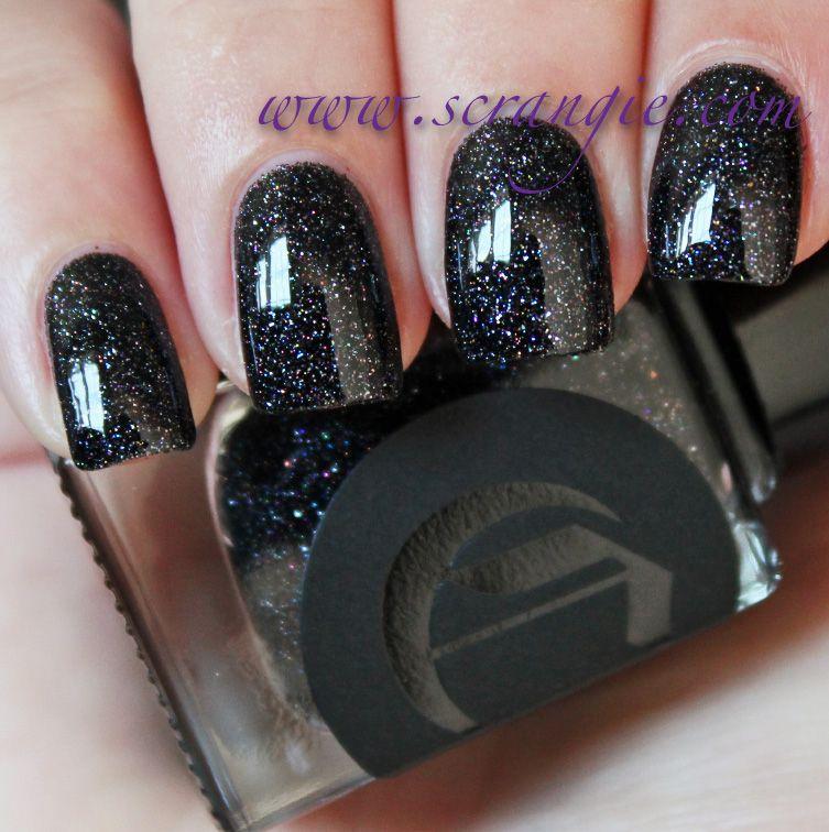 Black Nail Polish Colors: Scrangie: Cirque Colors Dark Horse Nail Polish Swatches