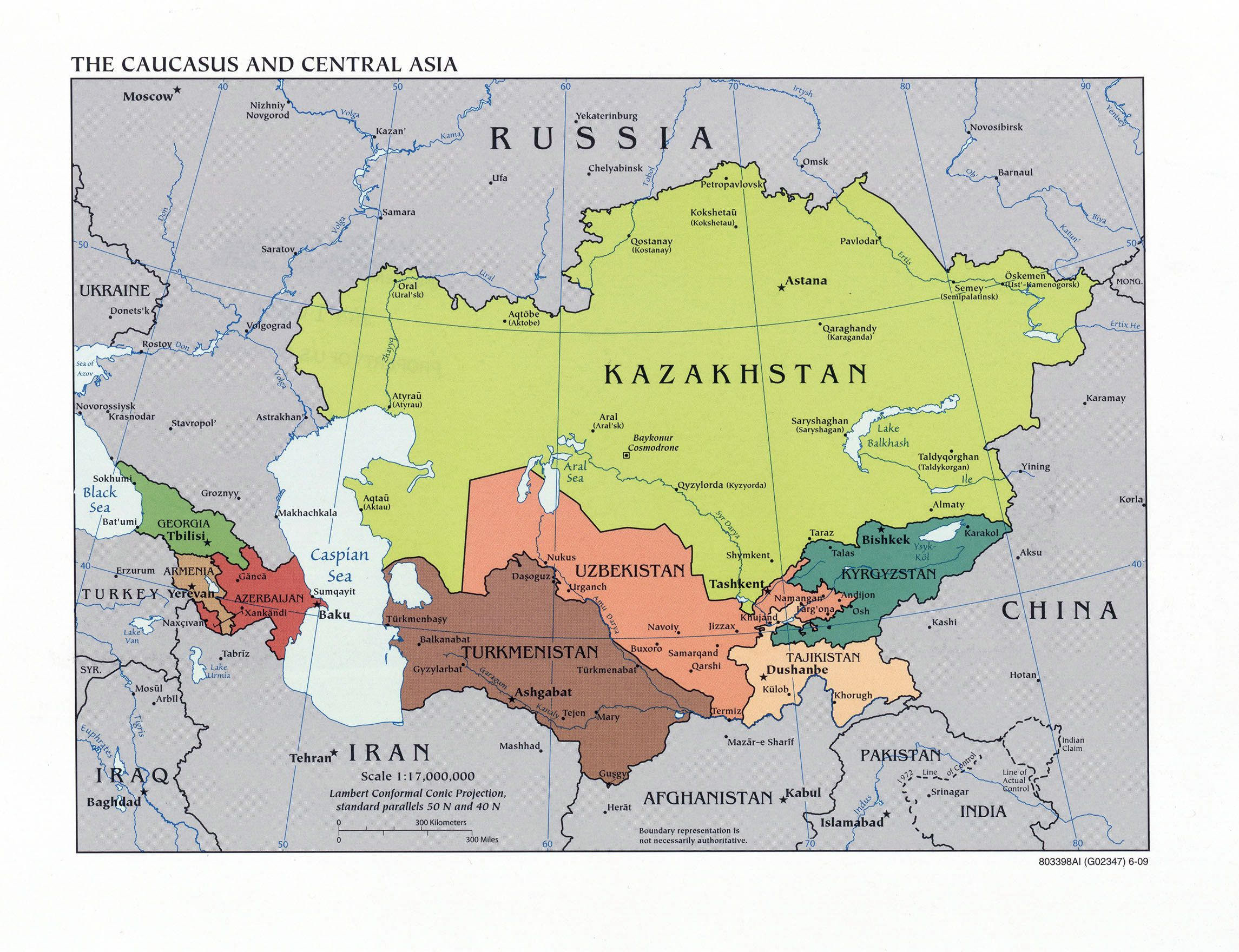 Maps of Asia and Asia countries | Political maps, Administrative and ...