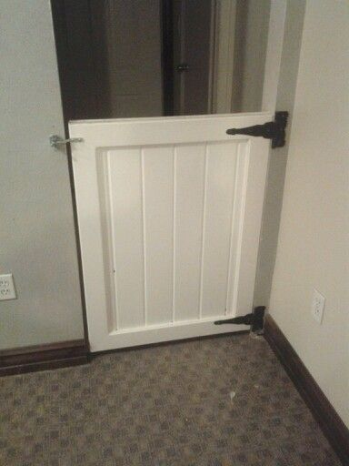 Dog Proof Door To The Landery Room Diy Dog Gate Pet
