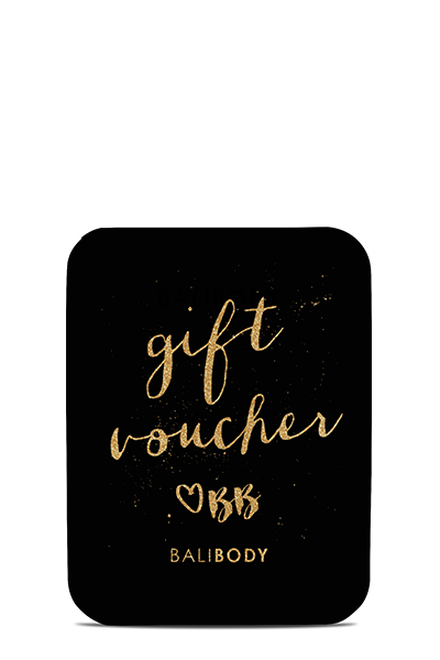 Bali Body Gift Voucher