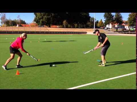 The Shuttle Passing Drill Field Hockey Training With Amy Cohen Youtube Field Hockey Hockey Training Field Hockey Drills