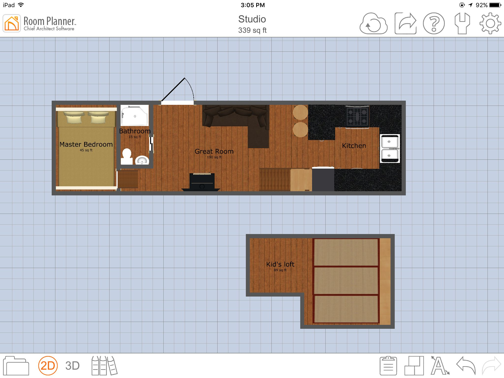 Tiny Home Designs: Layout For 32' Gooseneck Tiny House