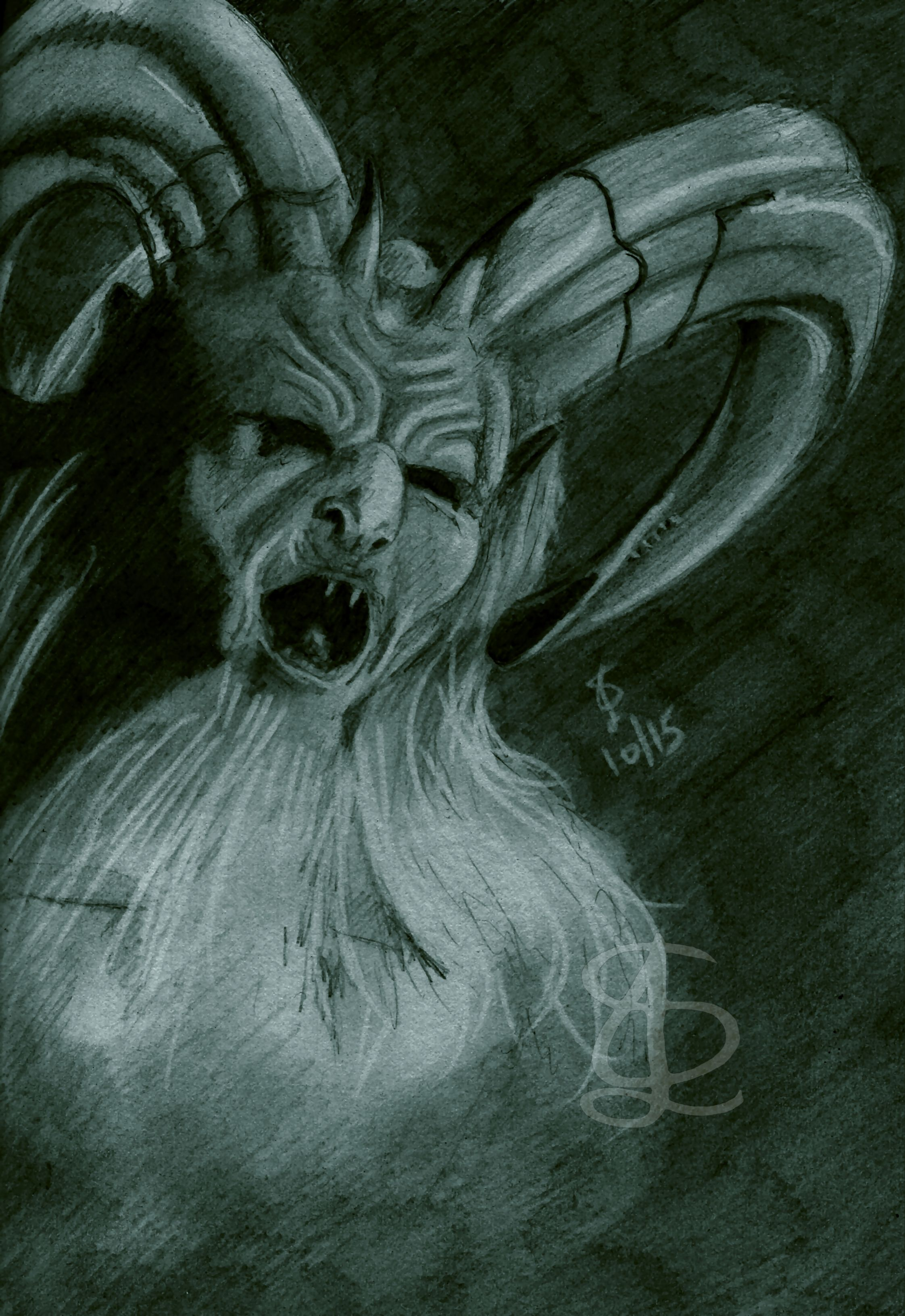 Christmas Horror Story Krampus.Pin On Tattoos For Him