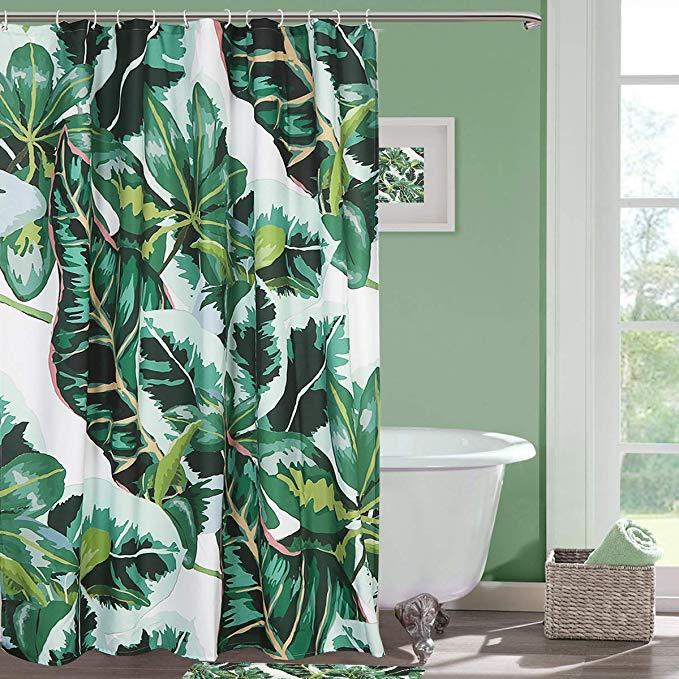 Seavish Fabric Shower Curtain