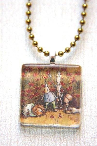 Wizard of Oz Necklace Pendant
