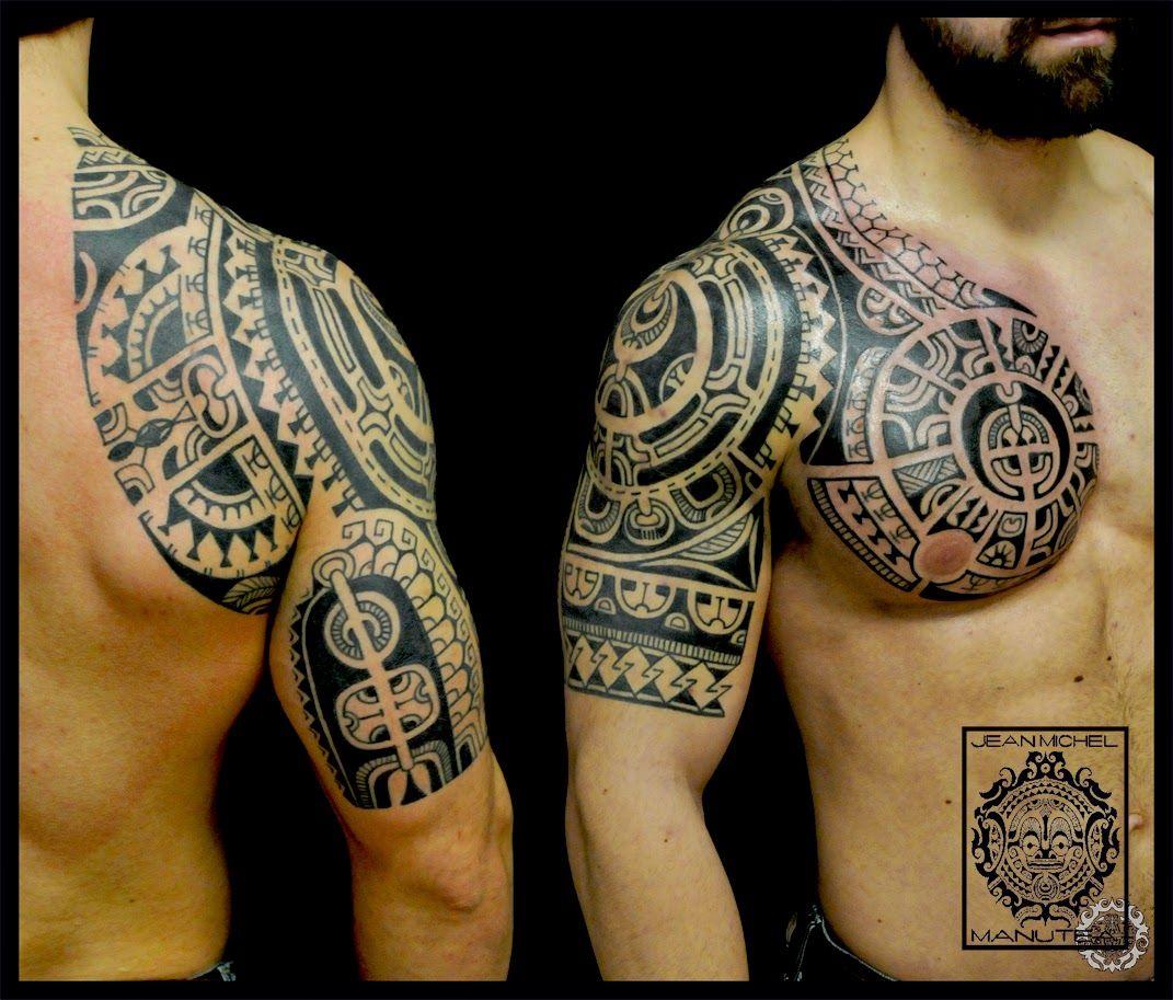 Haida Tattoo Tatuajes Polinesios Tatuaje Maori Hombro Tatuaje