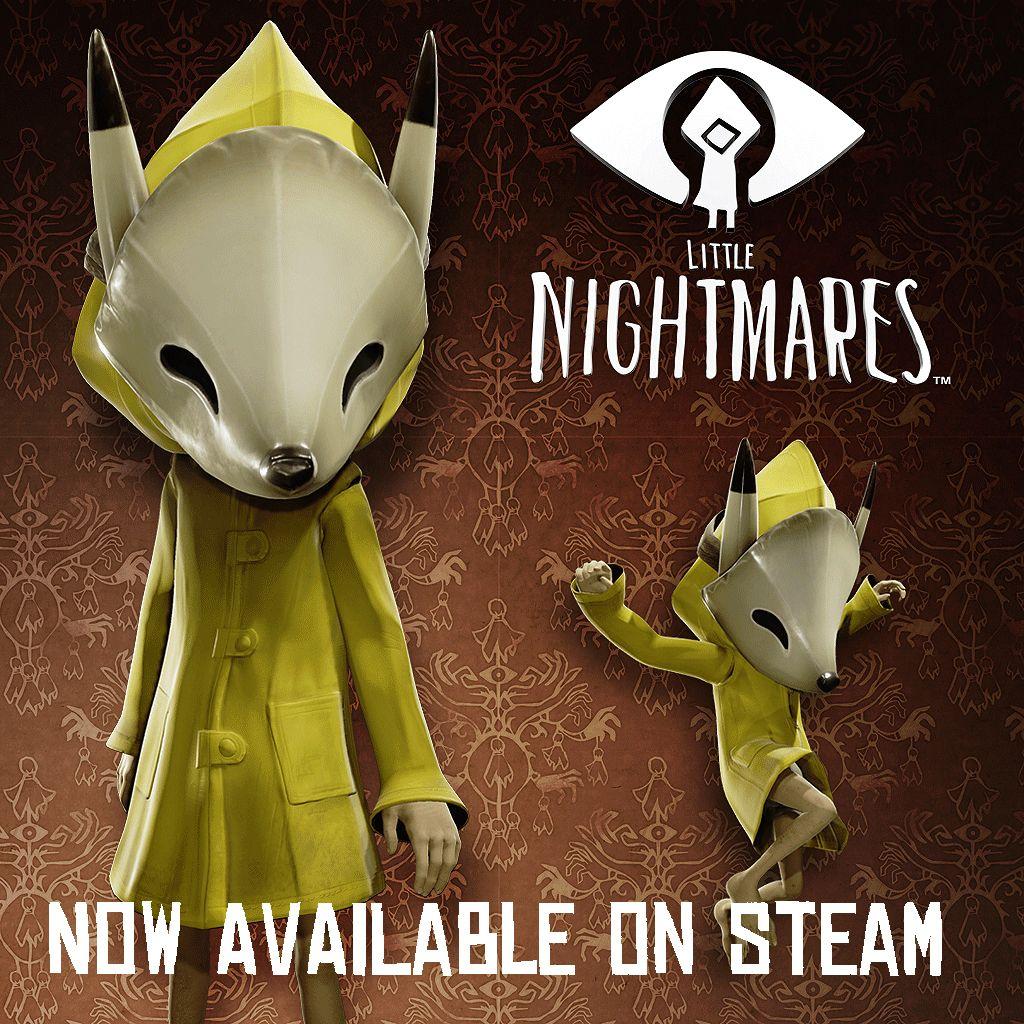 Little Nightmares On Steam Nightmare Childhood Fears Concept Art