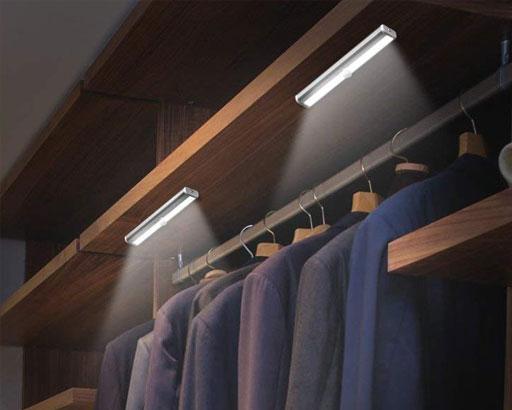 Homelife Led Diy Stick On Anywhere Portable Wireless 10 Led Light In 2020 Led Diy Closet Lighting Bar Lighting