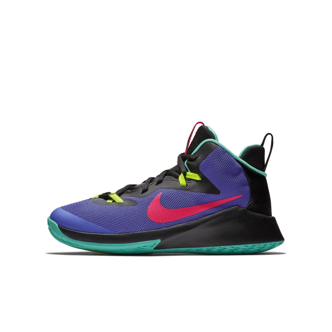 059fdec3a2c2 Nike Future Court Little Big Kids  Basketball Shoe Size 4.5Y (Persian  Violet)