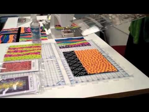 Ruler Of The Month Curved Slotted Ruler With Tutorial And Some Nice Ideas Quilting Rulers Quilting Videos Quilt Tutorials