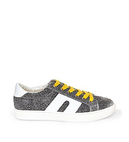 0a760b3f3b0 Steve Madden womens sm1 fashion sneaker silver multi | Steve Madden ...