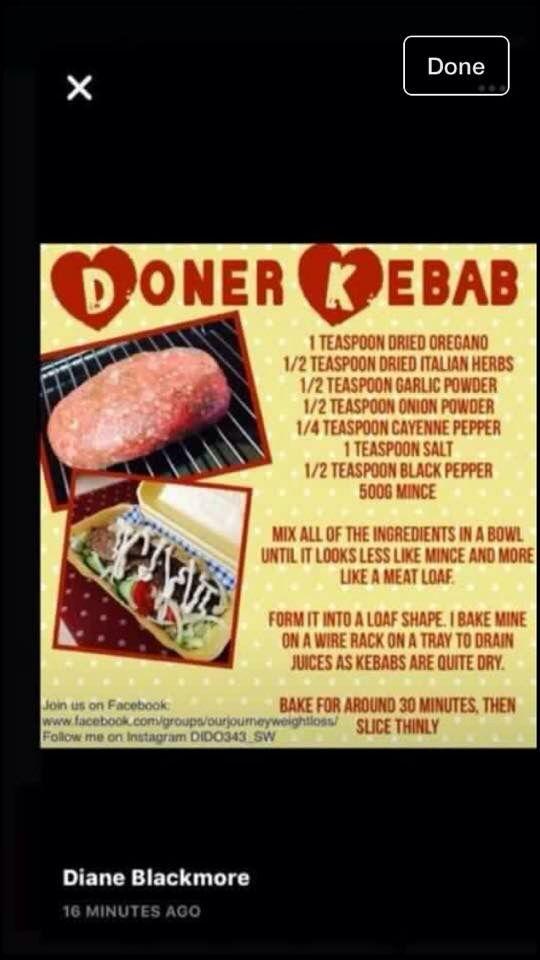Casă Doner Kebab Slow Cooker Slimming World Fakeaway