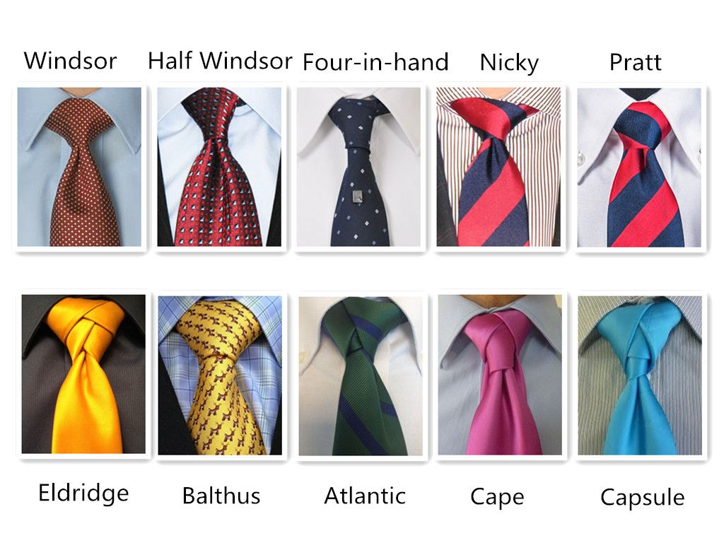 10 Best Wedding Tie Knots With Images Neck Tie Knots