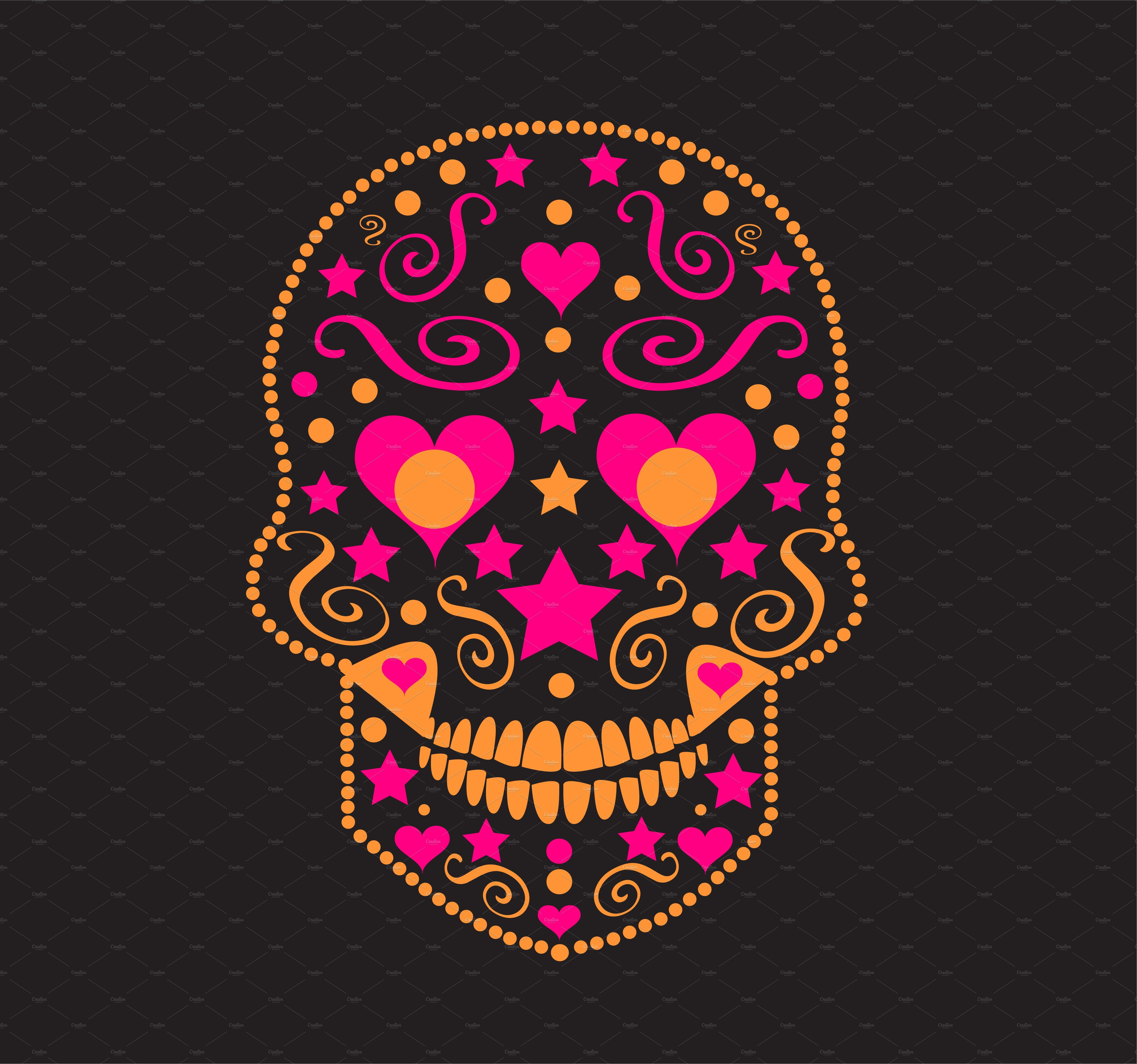 Skull with heart eyes (With images) Skull, Skull art