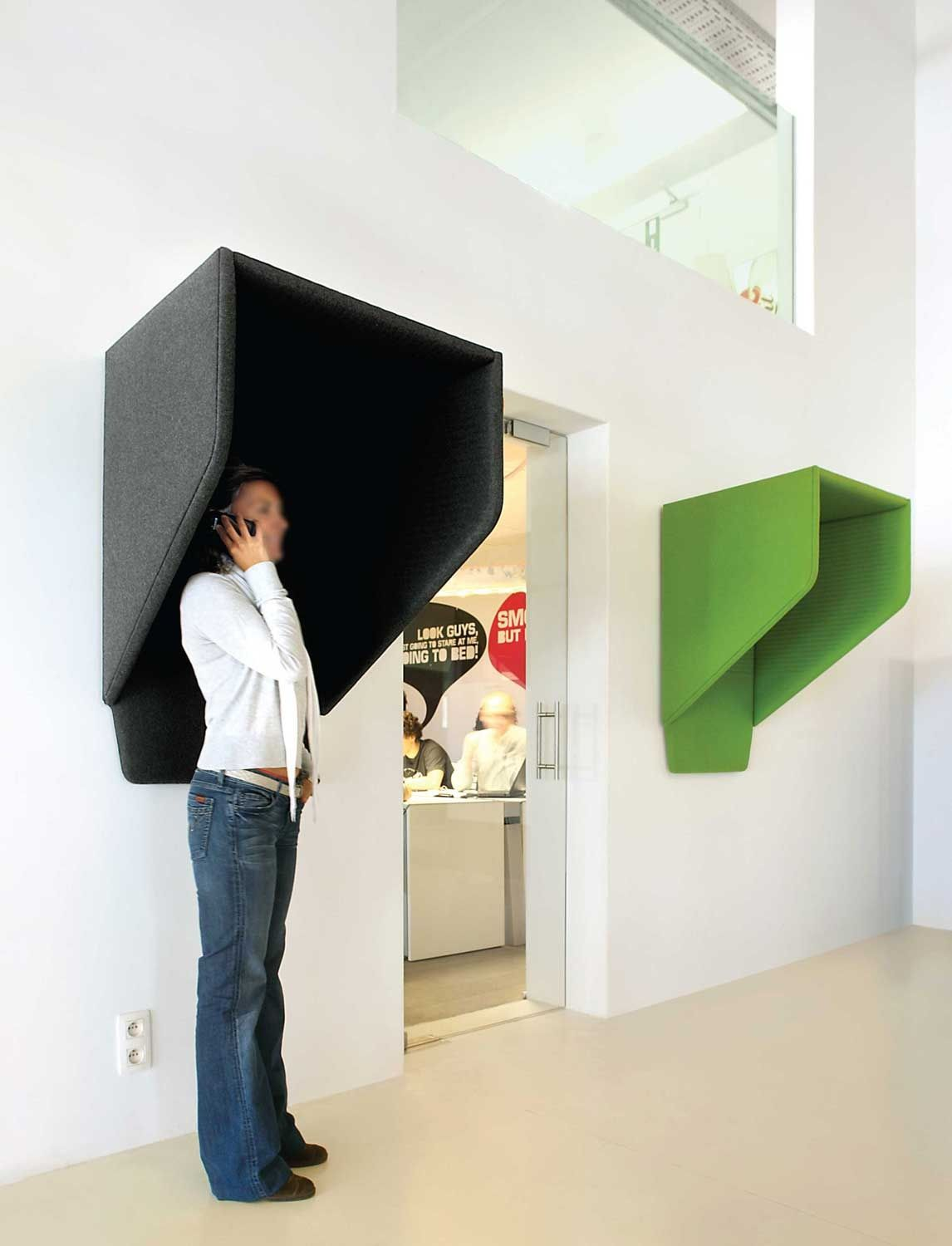 Acoustic Furniture - Office Soundproofing Phone booth | Office ...