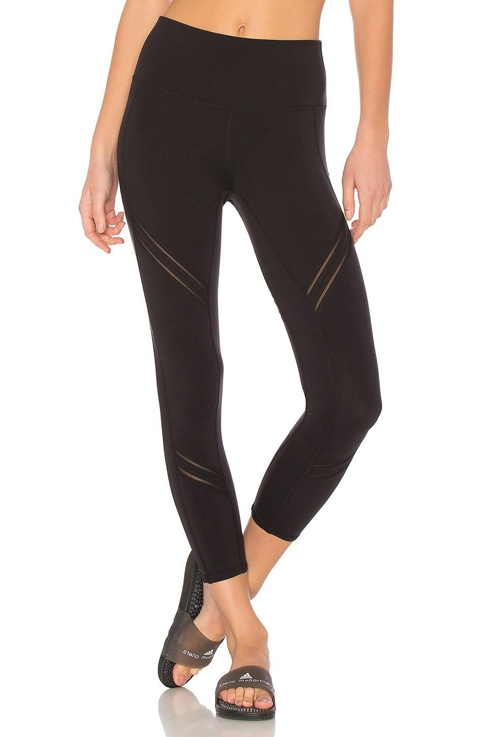 aed7ccc173 Shop for alo High Waist Cosmic Capri Legging in Black at REVOLVE. Free day shipping  and returns, 30 day price match guarantee.