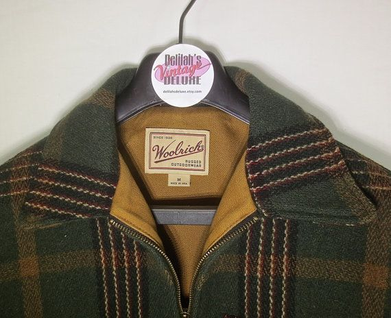 Classic Vintage 1950's Style Plaid Wool Man's by delilahsdeluxe, $47.50