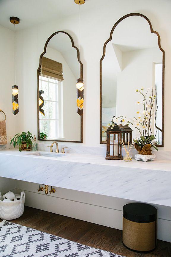 Brayden Tall Arch Mirror Bathroom Ideas Amazing
