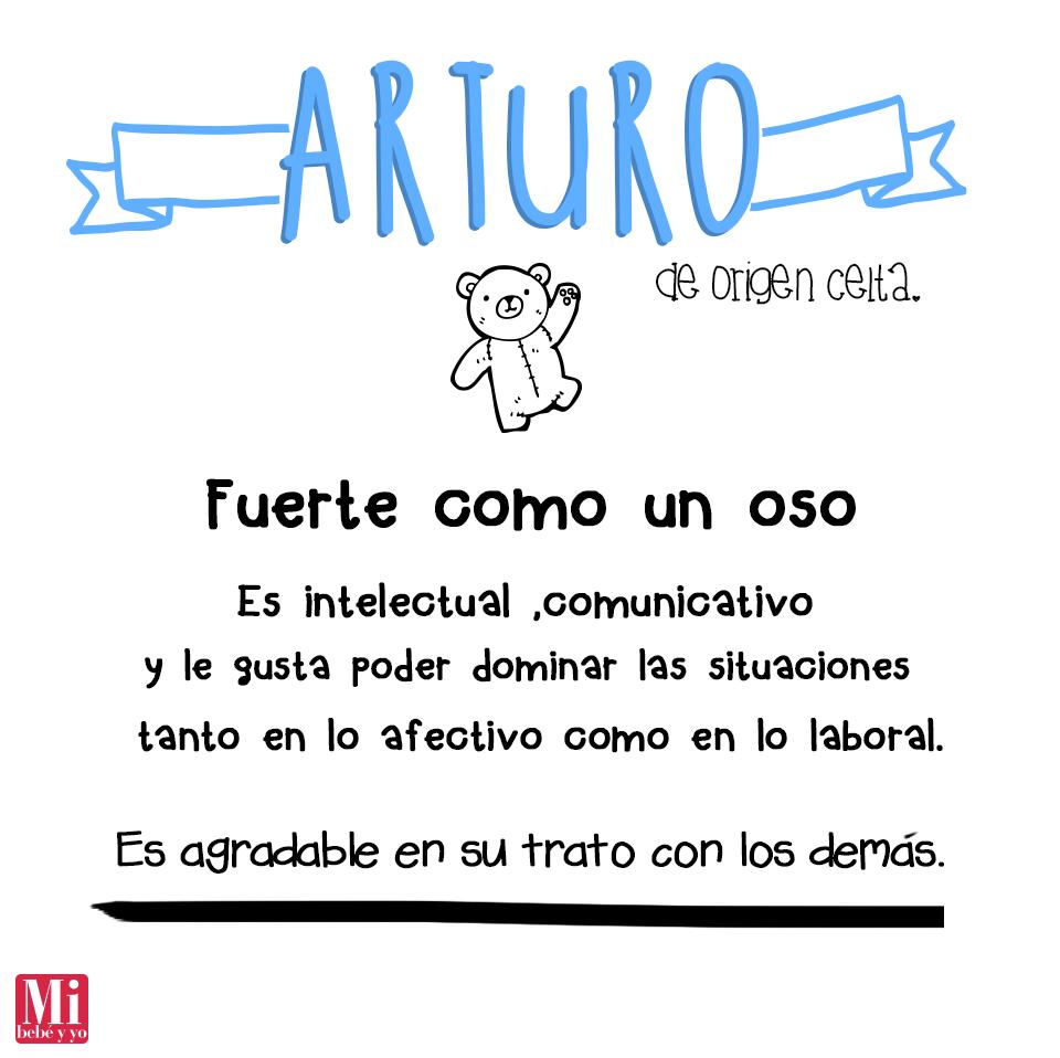 Arturo #NombresDeBebé #RecomendaciónMIB | bebés | Pinterest