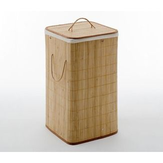 Gedy by Nameeks Bamboo Laundry Hamper