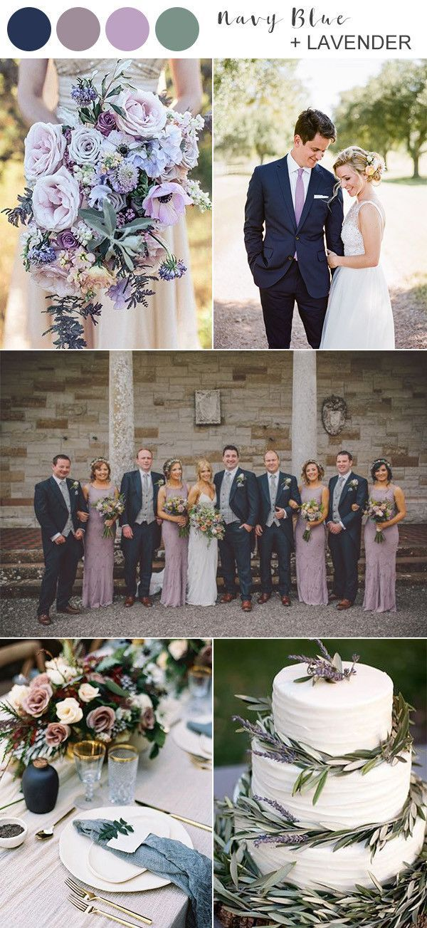 8 Best Navy Blue Wedding Color Ideas for 2020 in 2020