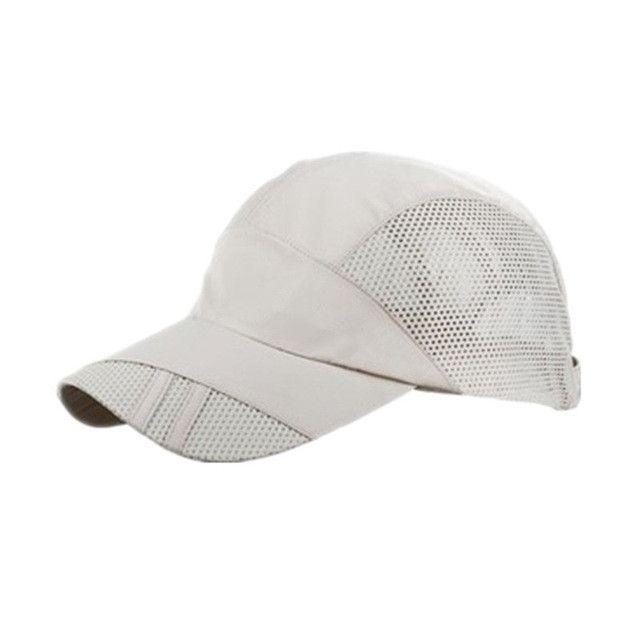 Running Caps Sport Breathable Man Baseball Adjustable Sun Hat UV Protection