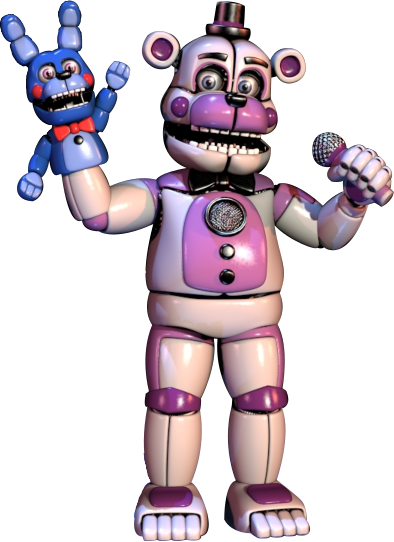 Funtime Freddy And Bon Bon From Fnaf Sister Location Fnaf Freddy Fnaf Sister Location Fnaf Baby