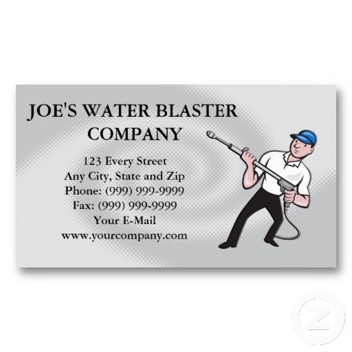 Power washing pressure water blaster worker business card templates power washing pressure water blaster worker business card templates fbccfo Image collections