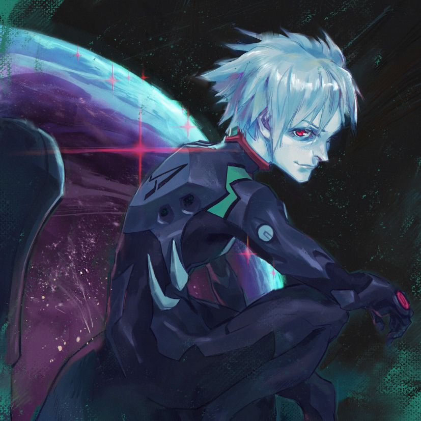 Kaworu Nagisa by toniinfante on DeviantArt | Stylized Characters
