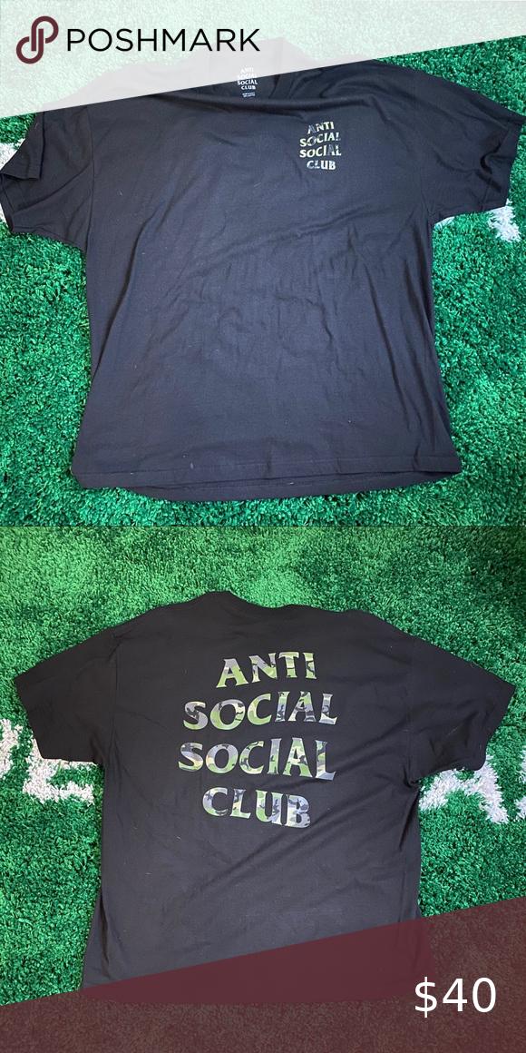 Anti Social Social Club Tee Anti Social Social Club Social Club Anti Social