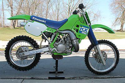 EBay 1988 Kawasaki KX KX250 250 Vintage Motocross Bike AHRMA Kx AWESOME Motorcycles Biker Usdealsrssdata