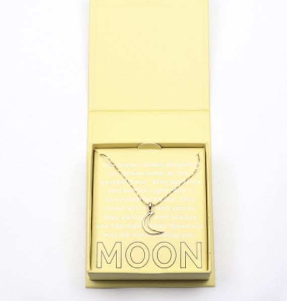 Hannah Meloche Moon Necklace In 2019 Jewelry Necklaces