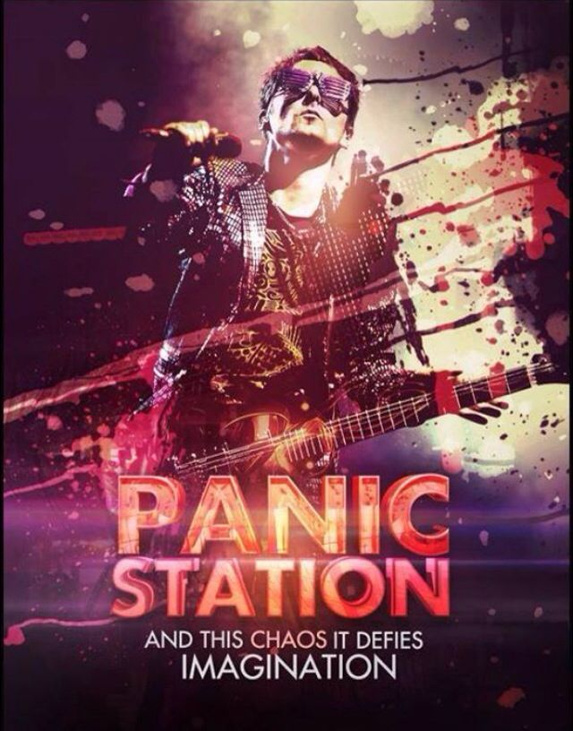 Panic Station... And this chaos it defies imagination ... #Muse ...