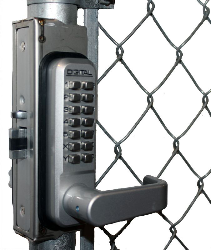 Lockey Gb2985 Linx Chainlink Gate Box For 2985 2930 And 2945 Locks Allows No Weld Mounting For Chainlink Gates Lock Gate Locks Outdoor Gate Keyless Door Lock