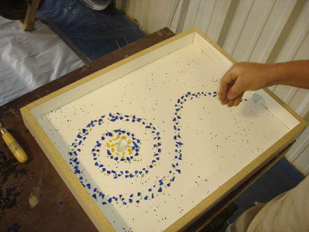 Adding Decorative Aggregate To Concrete Countertops Making