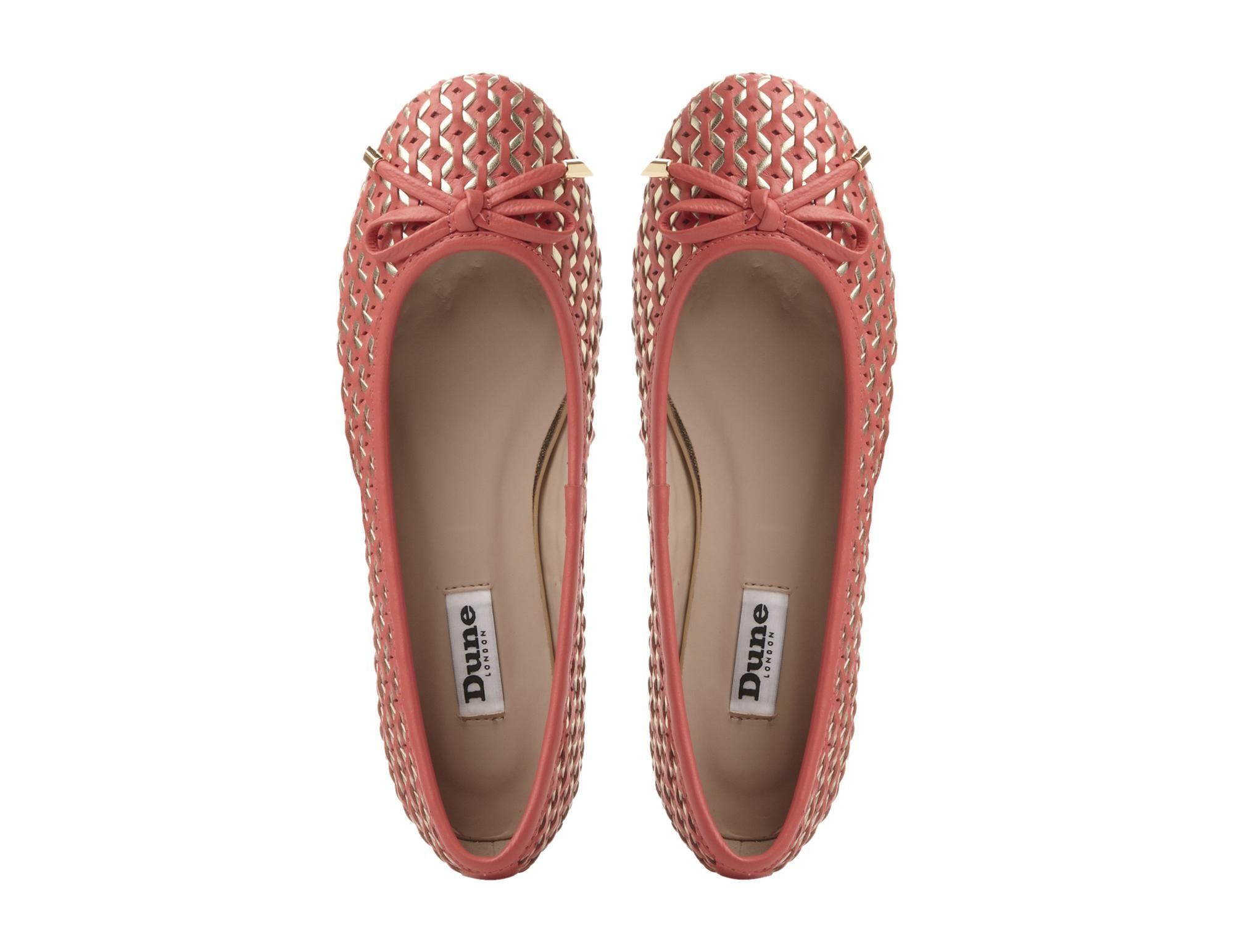 Ballerina shoes, Dune shoes