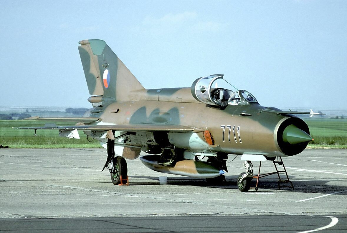 CzAF MiG21MF, 1993 Fighter jets, Aircraft, Military