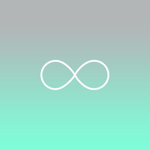 Infinity Sign Infinity Symbol Galaxy Cute Symbols Pinterest